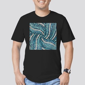 bohemian crystal teal turquoise T-Shirt