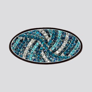 bohemian crystal teal turquoise Patch