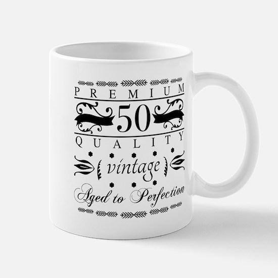 Premium 50th Birthday Mugs