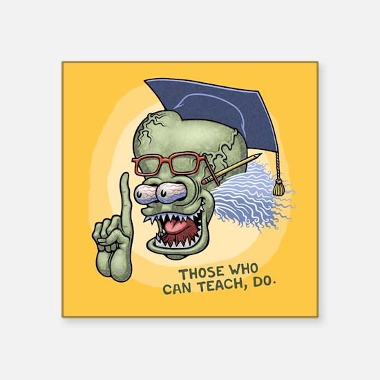 """Professor Festor Square Sticker 3"""" x 3"""""""