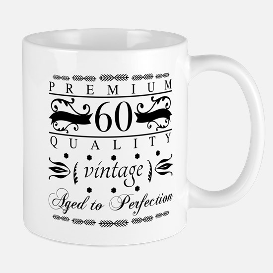 Premium 60th Birthday Mugs
