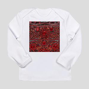 bohemian gothic red rhinestone Long Sleeve T-Shirt