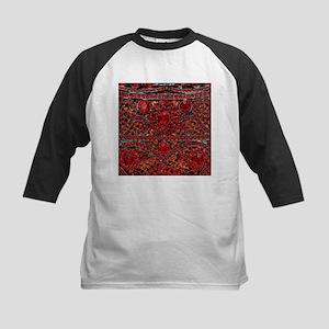 bohemian gothic red rhinestone Baseball Jersey