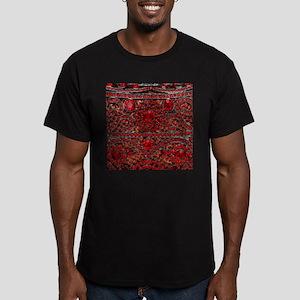 bohemian gothic red rhinestone T-Shirt