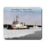 Icebreaking St. Mary's River Mousepad