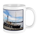 Huron Light Ship Winter Mugs