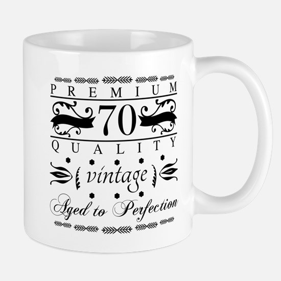 Premium 70th Birthday Mugs