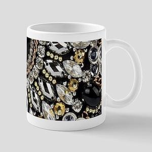 rhinestone art deco gatsby Mugs