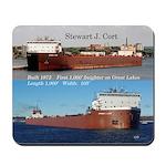 Stewart J. Cort 2 Pict Mousepad