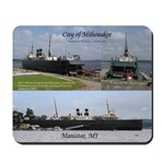 City Of Milwaukee 3 Pict Mousepad