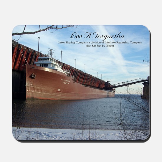 Lee A. Tregurtha Mousepad
