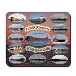 1,000 Foot Freighters On The Great Lake Mousepad