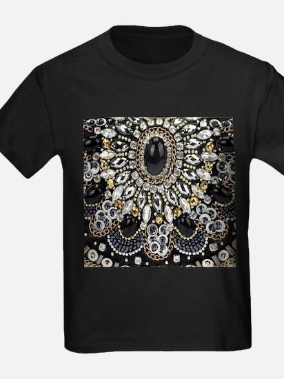 rhinestone art deco gatsby T-Shirt