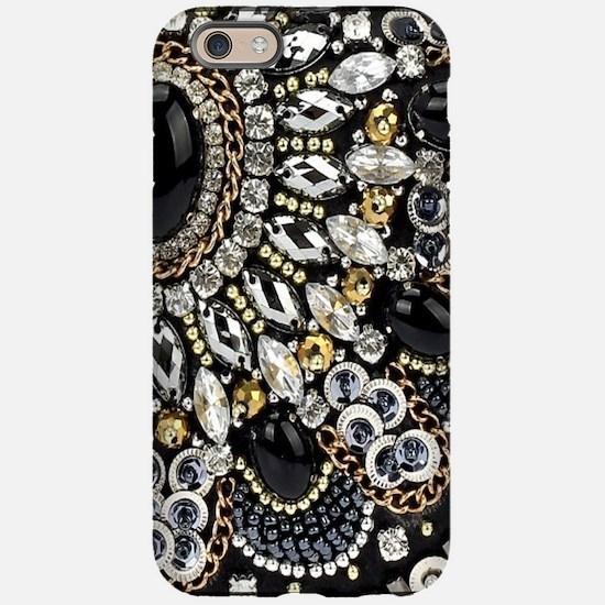 rhinestone art deco gatsby iPhone 6/6s Tough Case