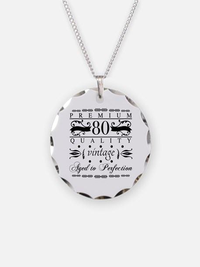 Funny Retro humor 80 Necklace