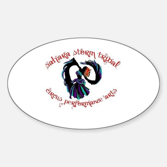 Unique Circus arts Sticker (Oval)