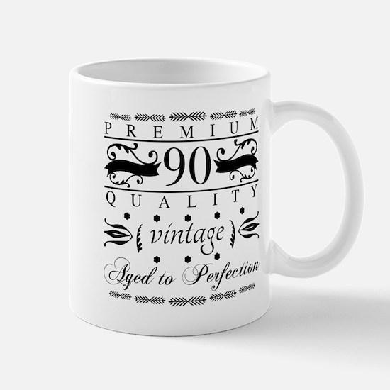 Premium 90th Birthday Mugs