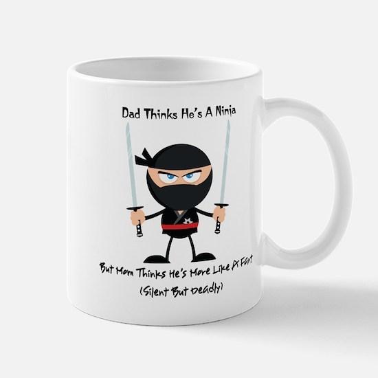 Ninja Dad b Mugs