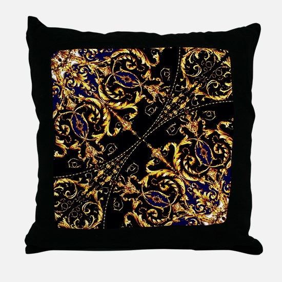 Cool Baroque Throw Pillow