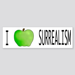 Surrealism Bumper Sticker