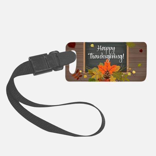 Unique Thanksgiving Luggage Tag