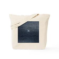Cool Rustic Look Blue Denim Tote Bag