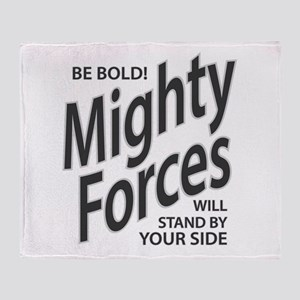 Mighty Forces Throw Blanket
