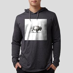 lone buffalo Long Sleeve T-Shirt