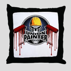 Union Painter Throw Pillow