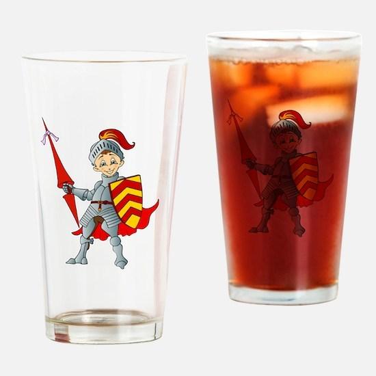 Cute Damsel Drinking Glass