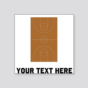 Basketball Court Sticker