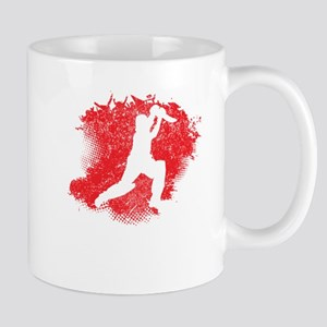 Cricket Paint Splatter Mugs