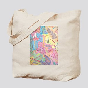 Tribal Shapes Tote Bag