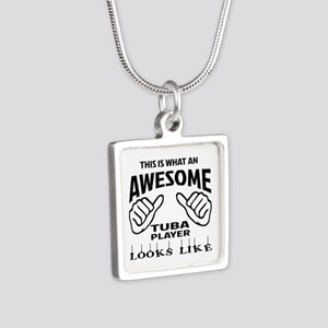 This is what an awesome Tu Silver Square Necklace