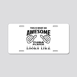 This is what an awesome Tub Aluminum License Plate