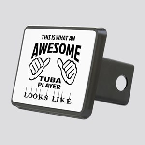 This is what an awesome Tu Rectangular Hitch Cover