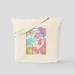 Ethnic Symbols Tote Bag