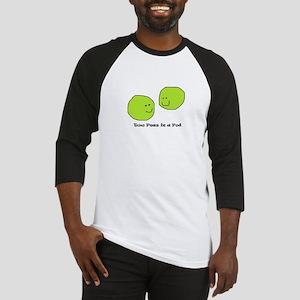 peas in a pod2 Baseball Jersey
