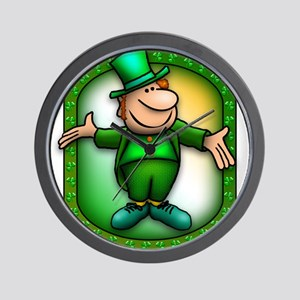 Wee Irish Leprechaun Wall Clock