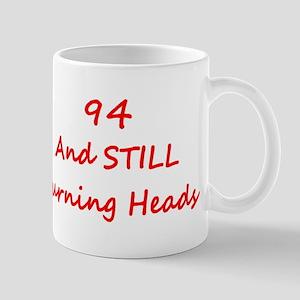 94 Still Turning Heads 2 Red Mugs