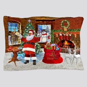 Merry Christmas From Santa Pillow Case
