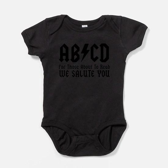 Cool Rock n roll baby Baby Bodysuit