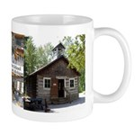 Old Bailey Schoolhouse 4 Pict Mugs