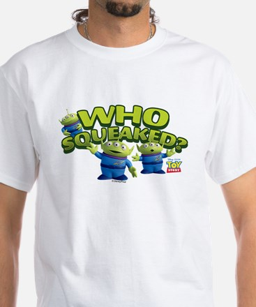 Toy Story Who Squeaked White T-Shirt