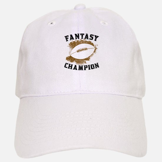 Fantasy Football Champion Baseball Baseball Baseball Cap