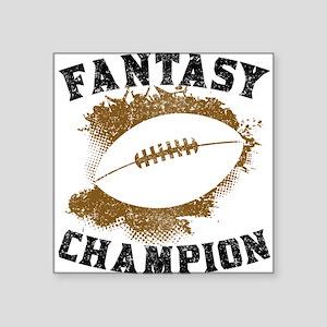 Fantasy Football Champion Sticker