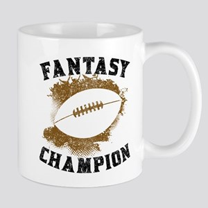 Fantasy Football Champion Mugs