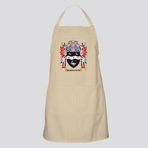 Hemingway Coat of Arms - Family Crest Apron