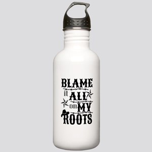 blame it on my roots Stainless Water Bottle 1.0L