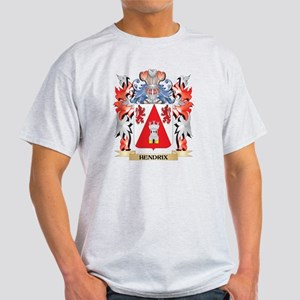 Hendrix Coat of Arms - Family Crest T-Shirt